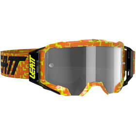 Leatt Velocity 5.5 Anti Fog Svømmebriller, neon orange/light grey